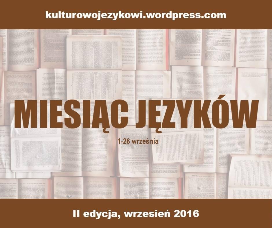 Miesiąc Języków 2016