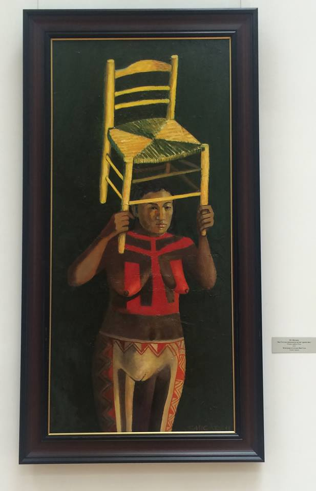 """kobieta z krzesłem Van Gogha"""""""