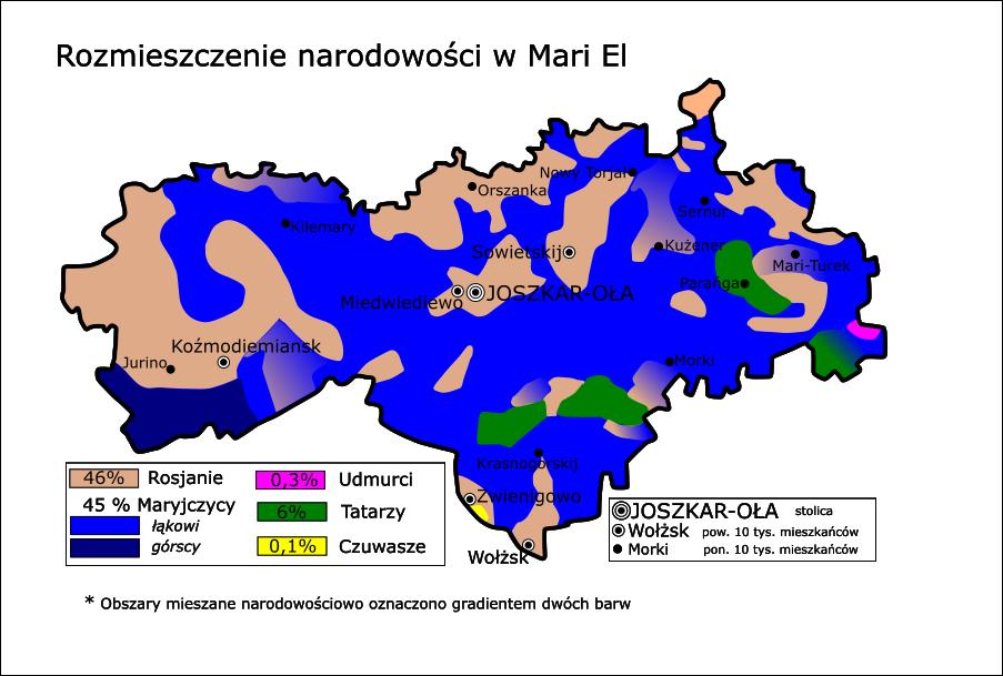 narodowości Mari El