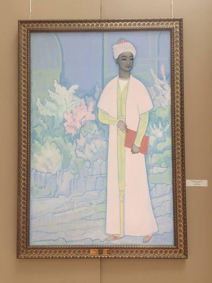 portret młodego Nawoi