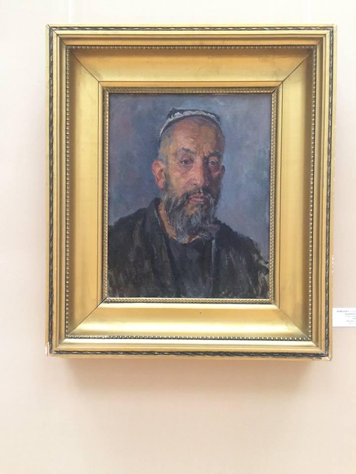 portret staruszka