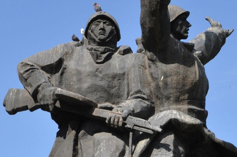 Abakan - pomnik