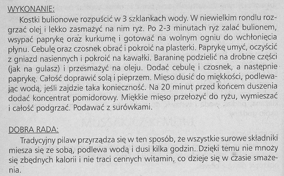 pilaw z Sudaku 2