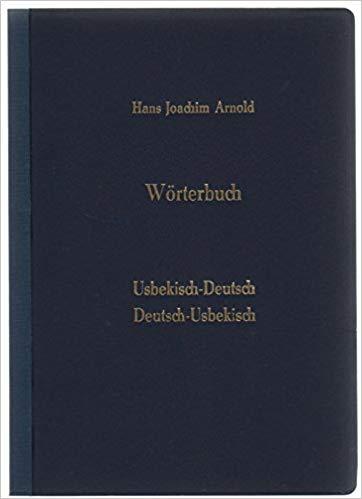 słownik niemiecko-uzbecki